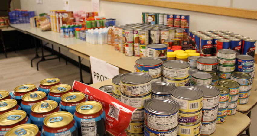 Westy Front Porch Food Drive brings in 17 tons of donations for food pantry