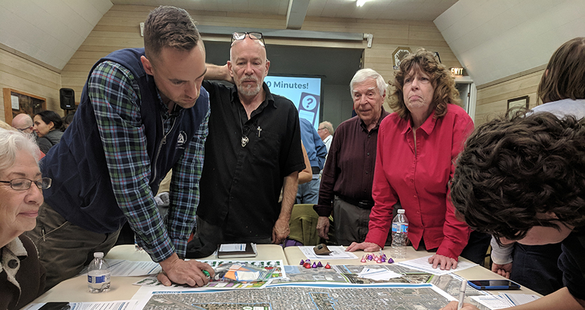 Residents share feedback on the future of the Harris Park area