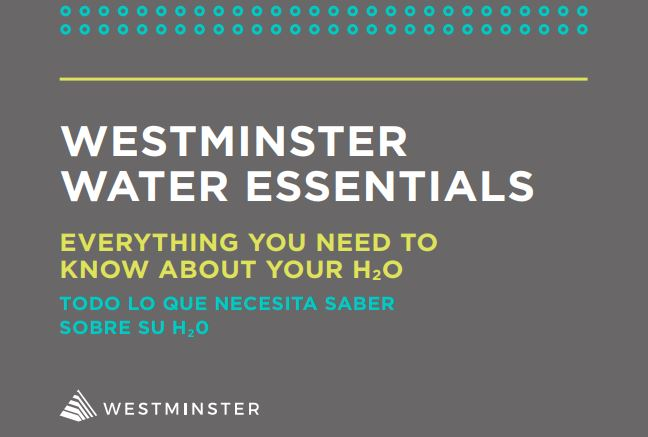 Westminster Water Infrastructure